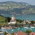 Švýcarsko: Spiez