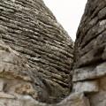 Alberobello: stavební technologie se sem dostala pravděpodobně z antického Řecka