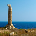 Capo Colonna: jediný sloup zůstal ze slávy antického Řecka v Kalábrii