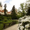 Průhonice: park u zámku