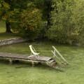 Gmunden: posezení na břehu Traunsee