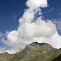 Lienzské Dolomity: vrchol Rotgabele nad Zettersfeldem