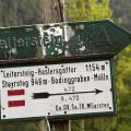 Směrovka na Leitersteig