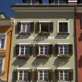 Lienz: fasády domů na náměstí