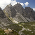 Lienzské Dolomity: Gamswiesenspitze, Bloßkofel a Rauchbichl