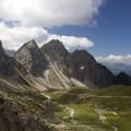Lienzské Dolomity: Kerschbaumertörl, Gamswiesenspitze, Bloßkofel a Rauchbichl