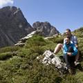 Lienzské Dolomity: na cestě pod Karslbader Hütte