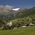 Virgental: Prägraten a panorama Rötspitze