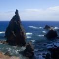 Madeira: útesy na severním pobřeží poloostrova Ponta de São Lourenço