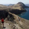 Madeira: úzká šíje na poloostrově Ponta de São Lourenço