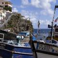 Madeira: přístav v Câmara de Lobos