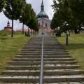Žďár nad Sázavou: kostel Sv. Jana Nepomuckého na Zelené Hoře.