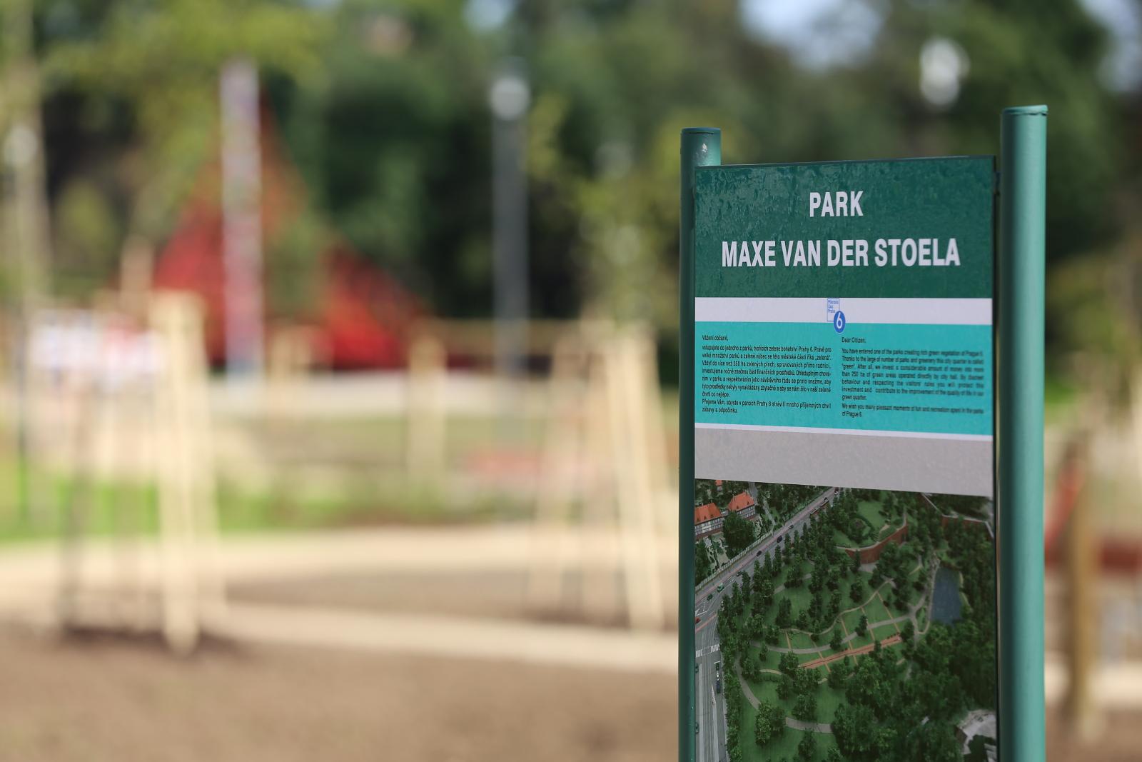 Park Maxe van der Stoela
