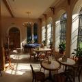 Sychrov: kavárna v oranžerii