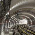 Traťový tunel u stanice Motol (foto archiv HOCHTIEF CZ a.s.)