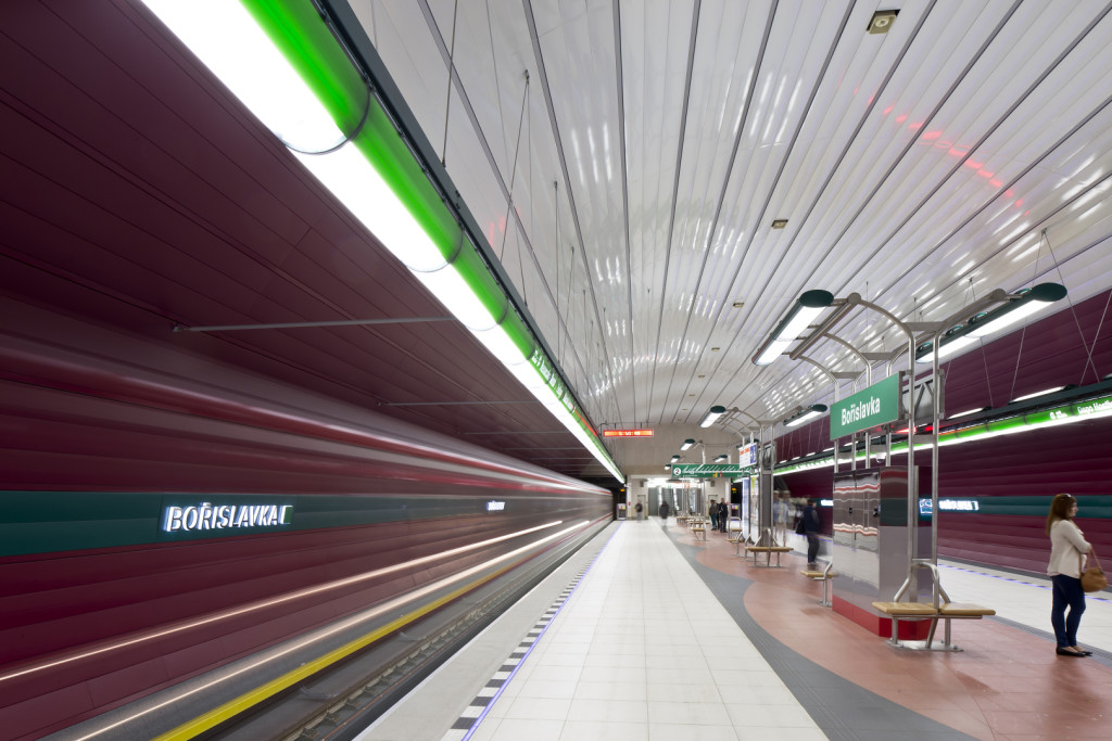 Metro V.A: stanice Bořislavka