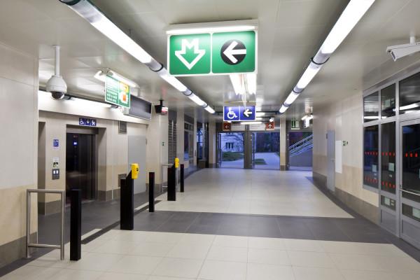 Metro V.A: stanice Bořislavka (foto archiv HOCHTIEF CZ a.s.)