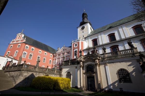 Vzdělávací a kulturní centrum Broumov - revitalizace kláštera (foto archiv HOCHTIEF CZ a.s.)