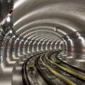 Metro V.A: traťový tunel u stanice Motol (foto archiv HOCHTIEF CZ a.s.)