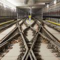 Metro V.A: obratové koleje u stanice Motol (foto archiv HOCHTIEF CZ a.s.)