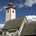 Kostel svatého Jana Křtitele v Ribčev Laz