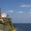 Kostel sv. Jiří se zvonicí a baptisteriem v Piranu