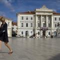 Tartiniho náměstí je pojmenováno po houslovém virtuosovi a skladateli