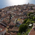 Pohled ze zvonice na staré město