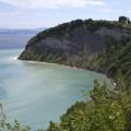 Cesta na útesech u Strunjanu