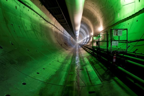 Tunel Ejpovice: ražba