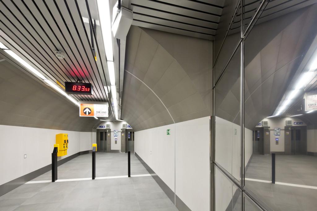Metro A/B Můstek: výtahy