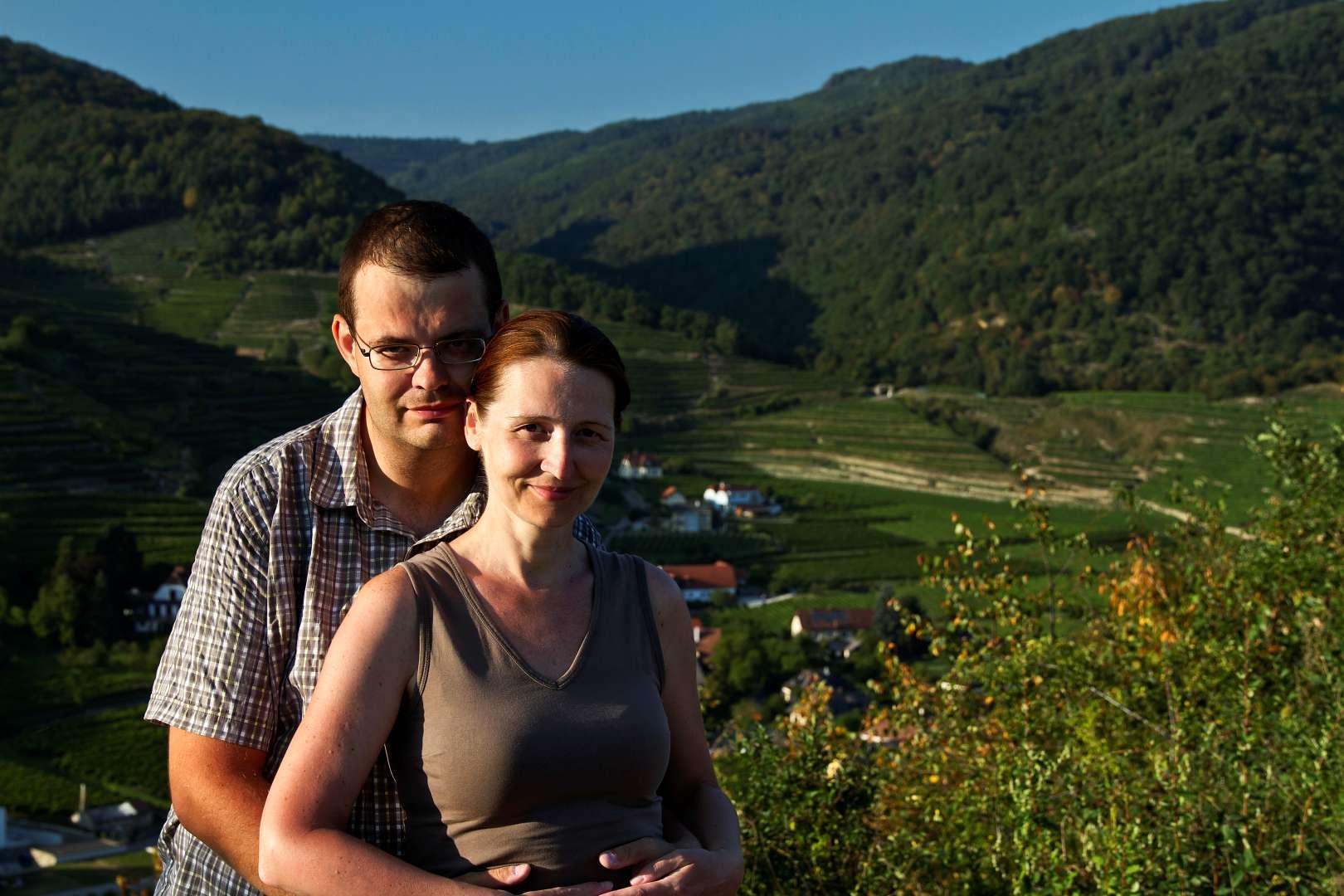 Wachau: Podvečer na Tausendeimerbergu
