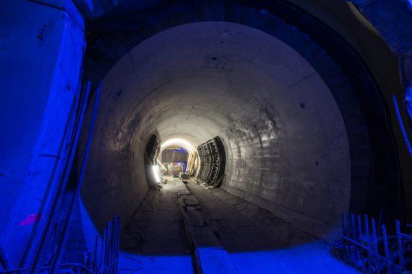 Tunely Ejpovice: výstavba