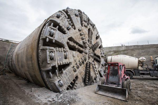 Tunel Ejpovice: výstavba